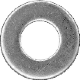 Шайба DIN126  D 6.6х12х 1.6  цинк