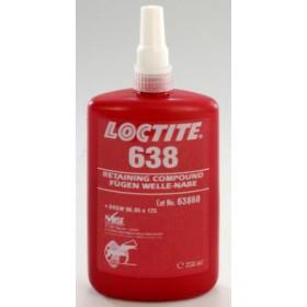 Loctite 638 Фиксатор вал-втулка до 0,25 мм 250мл