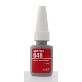Loctite 648 Фиксатор высокой прочности, высокотемпературный 175С, до 0,15 мм 5мл