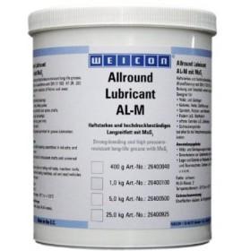 AL-M 1000 (1кг) Сильный, стойкий, долговременный смазочный материал с MoS2, устойчивый к высокому давлению. NLGI Class:2. t° от-20°C до +120°C. Черный.