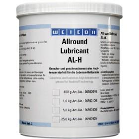 AL-H 1000 (1кг) Высокотемпературная жировая смазка для пищевой промышленности, без вкуса и запаха. t°от -40С до +160С. Желтовато –белый.