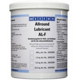 AL-F 25000 (25кг) Всесторонняя высокоэффективная смазка для вращающихся и скользящих поверхностей, в пищевой промышленности. t°от -30С до +120С. Белый.
