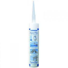 Aqua-Flex (310мл) Специальный клей-герметик для мокрых и влажных поверхностей. Белый.
