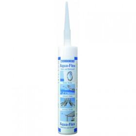 Aqua-Flex (310мл) Специальный клей-герметик для мокрых и влажных поверхностей. Серый.